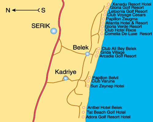 Курорты Турции. Белек