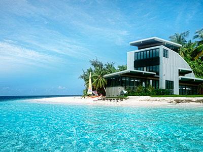 дом на море картинки