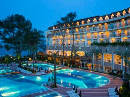 Отель Amara Club Marine в городе Бельдиби.