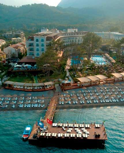 Отель Amara Wing Resort в городе Кемер.