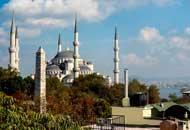 Голубая мечеть в Стамбуле.