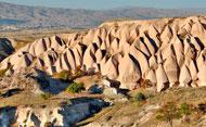 Каменные дюны в Каппадокия