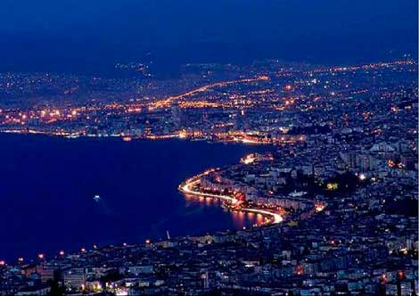 Город Измир.