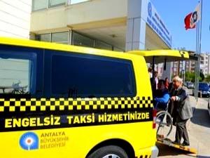 В Анталии появится бесплатное такси для инвалидов
