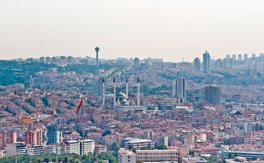 Туристическая Анкара (столица Турции)