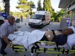 В результате землетрясения в Турции ранены десятки человек