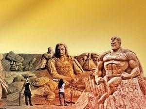 В Анталии начинается Фестиваль песчаных скульптур