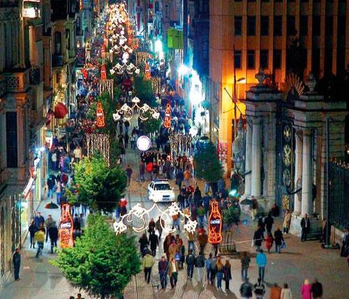 Достопримечательности Стамбула.Район Бейоглу.