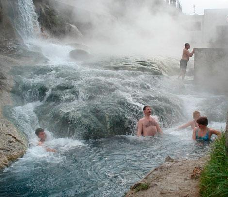 Курорт Турции Кангал.
