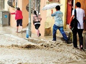 Регион Мраморного моря затопило в результате проливных дождей