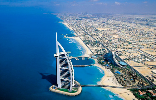 Золотой город аравийского побережья