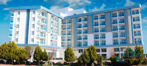 Здание Alish Hotel Resort