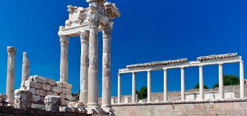 Руины Пергама